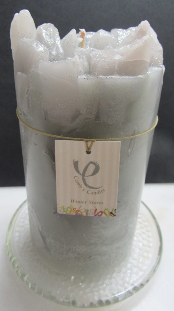 gray candle