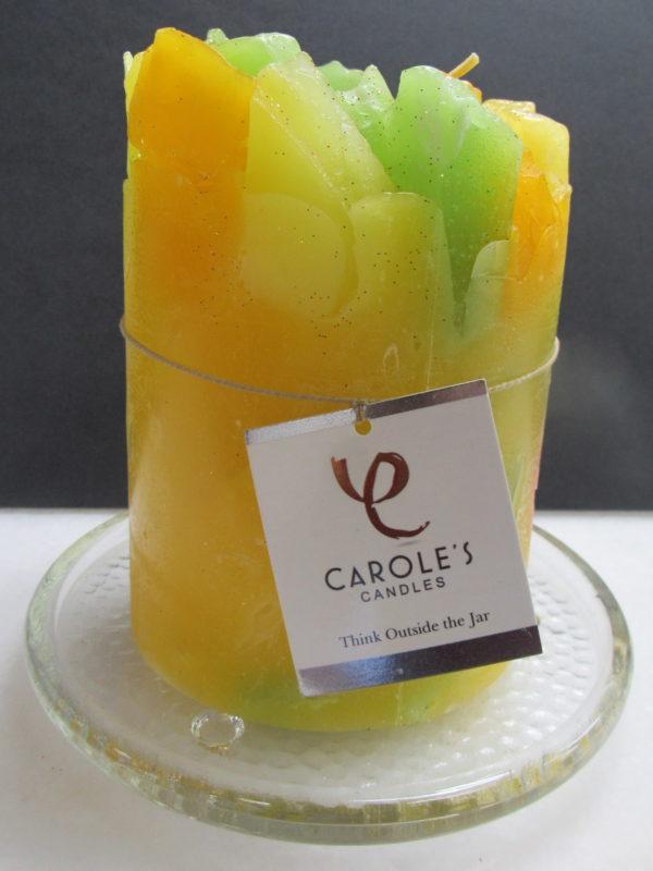 yellow candle