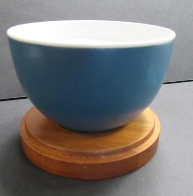 blue candle bowl