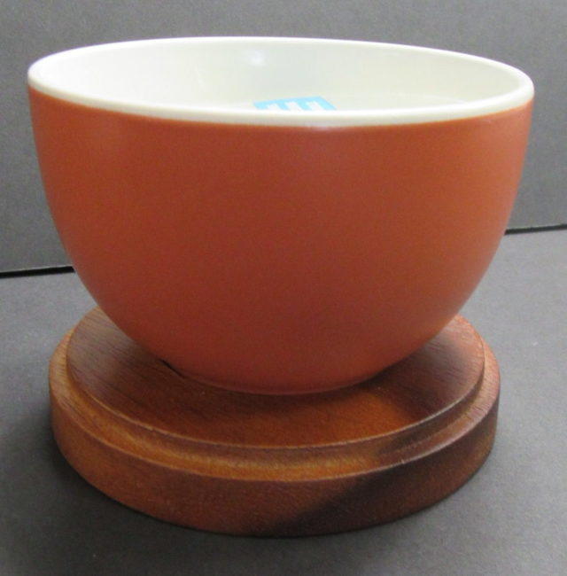 orange Candle Bowl